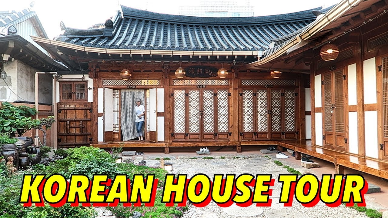 My traditional korean house tour hanok in jeonju youtube - Mansions in south korea ...