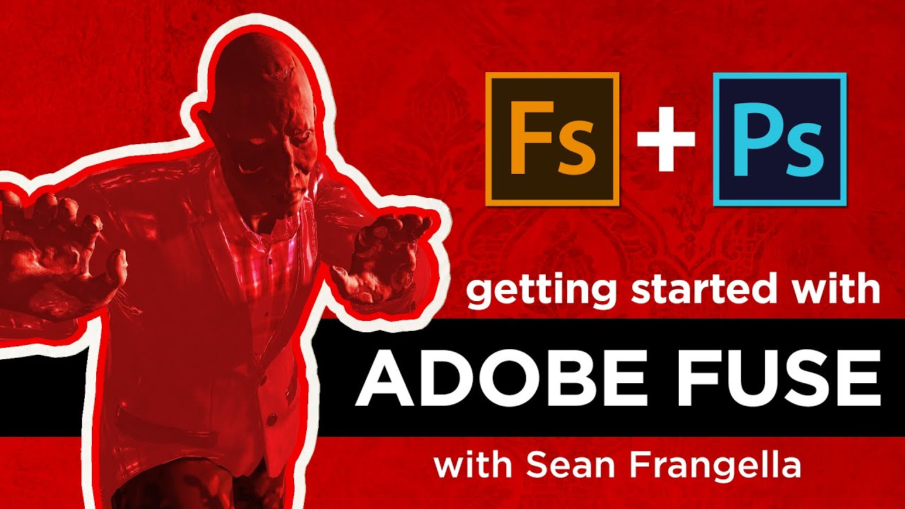 Adobe Fuse CC Tutorial - Create custom 3D characters, bring them into  Photoshop CC 2015