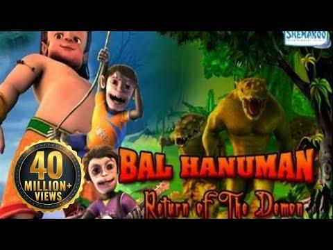 Bal Hanuman - Return Of The Demon - Full Movie In 15 Mins - Superhit Animated Movie