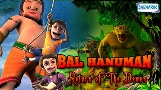 Bal Hanuman - Return of the Demon - Full Movie In 15 Mins - Superhit Animated Movie