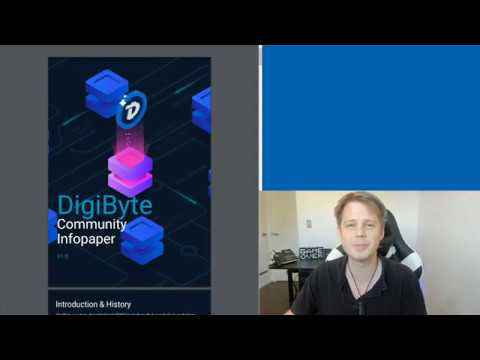 DigiByte Update – #195 – CryptoMug Podcast, SimpleLogin & AntumID, Sequoir, DGB AMA, Infopaper