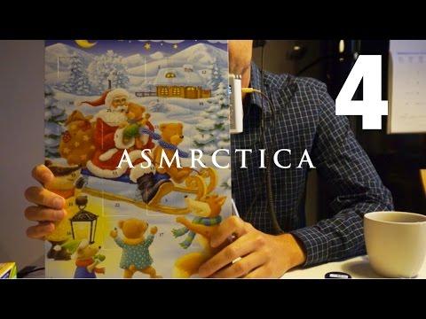 ASMR Soft Spoken Chocolate Advent Calendar Opening