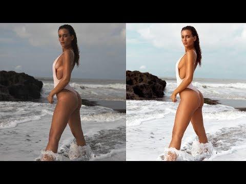 Full Body Swimwear Photoshop Retouching Tutorial