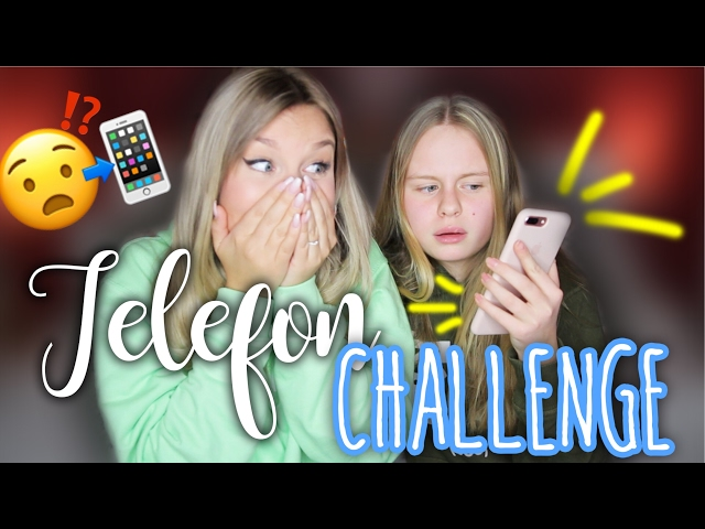 TELEFON Challenge 😳 mit meiner Schwester Lena | Dagi Bee