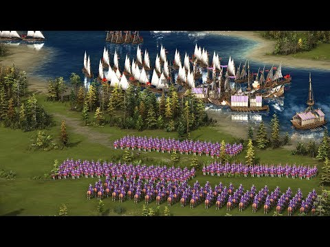 Cossacks 3 - Mission 4 THE STRUGGLE ON LA MANCHE | Dawn of the French Fleet