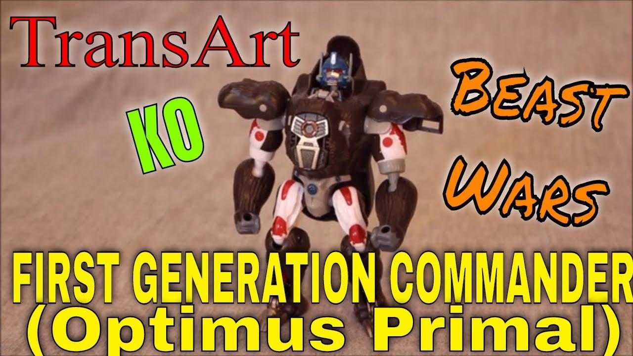 Here's a Rarity - An Undersized KO - Transart KO Optimus Primal