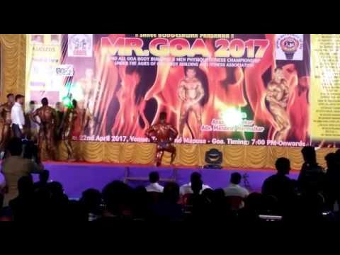 Mr Goa 2017 Rahul Virdiker