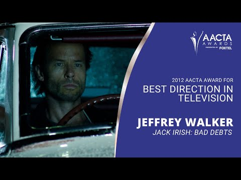 Jeffrey Walker  Media Room  2nd AACTA Awards