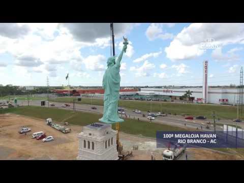 Estátua da Liberdade - 100ª megaloja Havan, Rio Branco (AC)