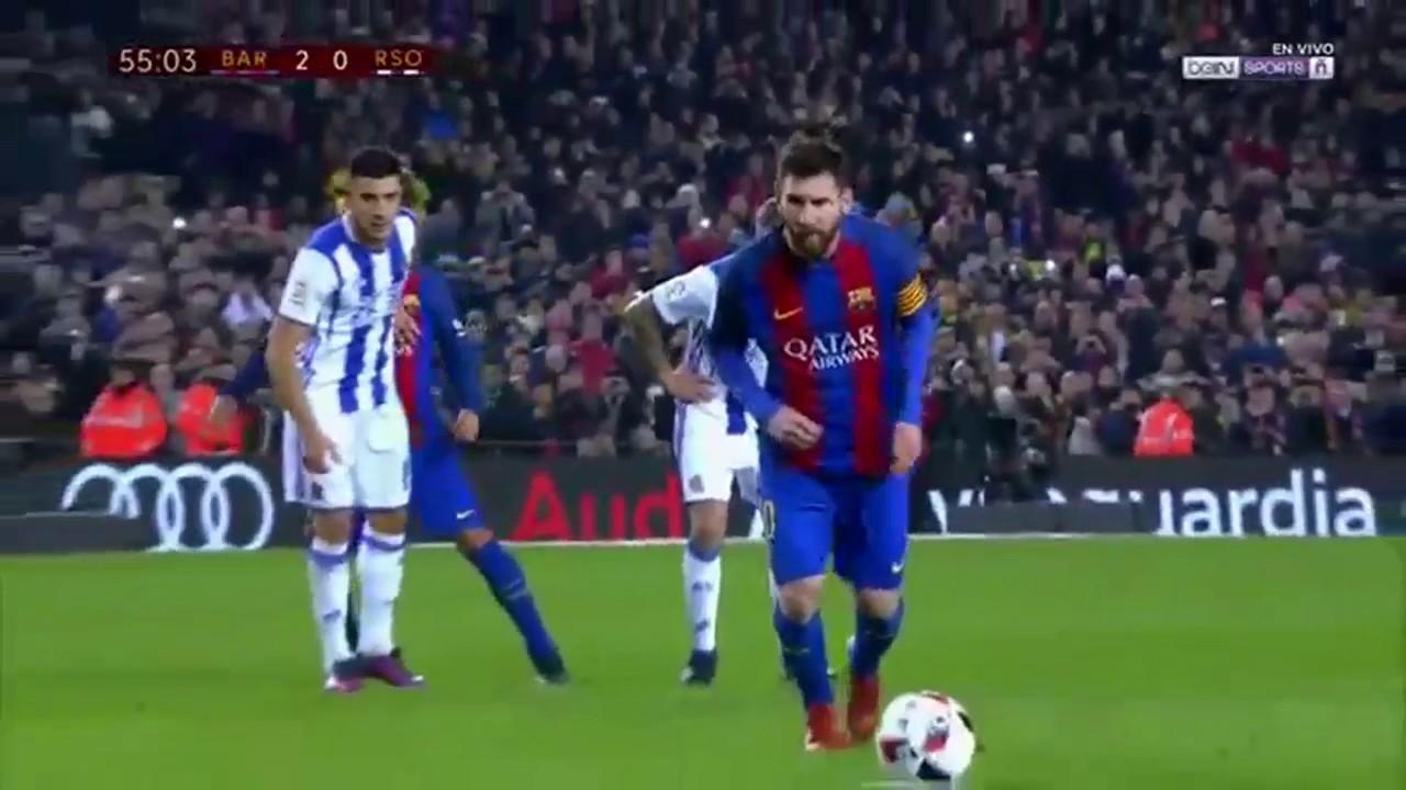 FC Barcelona vs Real Sociedad highlights (5-2) 1/26/17 ...