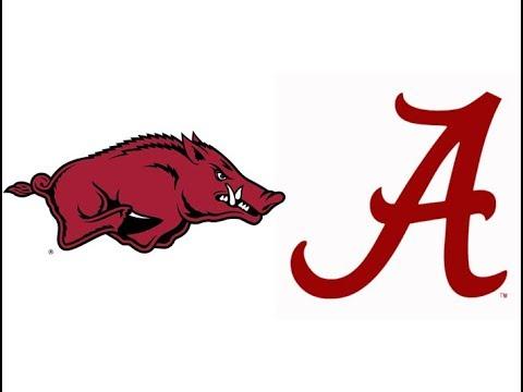2017 Arkansas at #1 Alabama (Highlights)