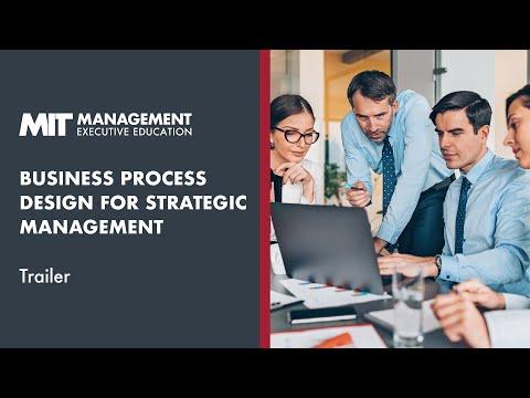 MIT Sloan Business Process Design For Strategic Management | Course Trailer