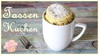 DIY - Tassen Kuchen - Mug Cake - aus der Mikrowelle - schnell und einfach -Backlounge Rezept
