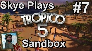Tropico 5: Gameplay Sandbox #7 ►Infrastructure and Happiness - WW Era◀ Tutorial/Tips Tropico 5