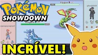 Pokémon Showdown! - Batalha Incrível