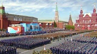 Retransmission de la parade militaire du 9 mai à Moscou