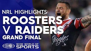 NRL Highlights: Sydney Roosters v Canberra Raiders - Grand Final | NRL on Nine