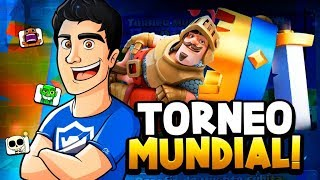 A POR EL TOP MUNDIAL EN EL TORNEO GLOBAL🔥 + PROS EN VIVO 7000 COPAS | CLASH ROYALE