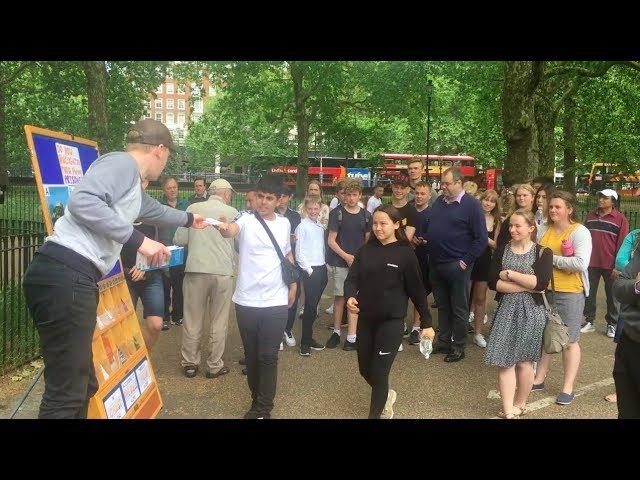 Holy Spirit arrests teenage crowd at Hyde Park Speaker's Corner