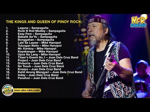 The Kings and The Queen of Pinoy Rock, Non-Stop! | MOR Playlist Non-Stop OPM Songs 2018 ♪