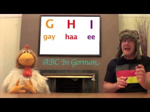 German ABC - Learn ABC In German - German Alphabet Song