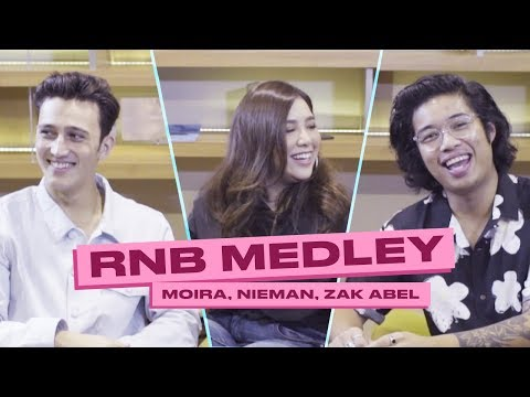 Moira Dela Torre, Nieman & Zak Abel Turns Songs Into R&B!