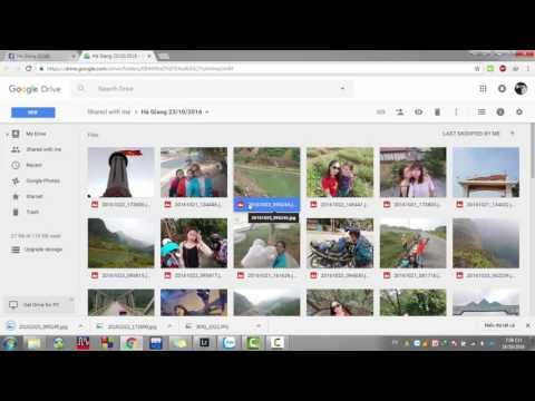 Hướng Dẫn Tải ảnh Từ Google Drive
