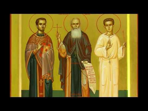 Mănăstirea Diaconesti - A venit si aici Crăciunul / Sus la naltul cerului (Radu Gyr)