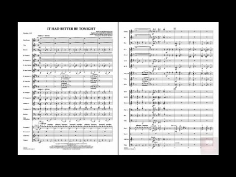 It Had Better Be Tonight by Henry Mancini/arr. Michael Brown