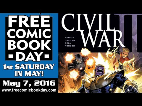 Unboxing Free Comic Book Day 2016 at Stadium Comics - See all the FREE books here! FCBD