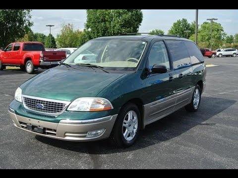 2003 Ford Windstar Sel V6 Start Up And Full Tour Youtube