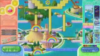 Rainbow Islands: Towering Adventure! - time attack(speedrun) mode [area3 - 0