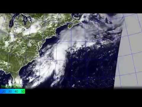 Hurricane Bertha - Satellite and Radar Imagery (August 1-11, 2014)
