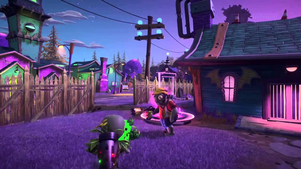 Zombies™ Garden Warfare 2 Huge teleporter fail and finding secret door finder & Plants vs. Zombies™ Garden Warfare 2 Huge teleporter fail and ...