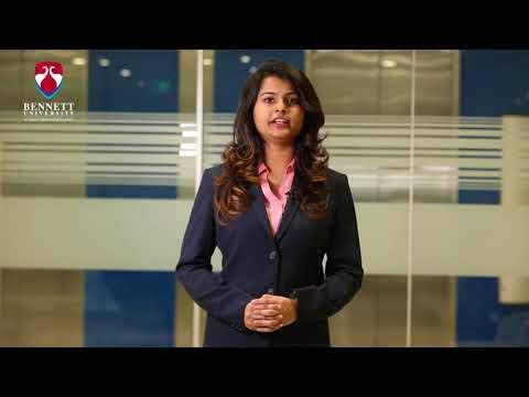 Bennett MBA student Akriti Goenka talks about industry interaction opportunities with Bennett MBA