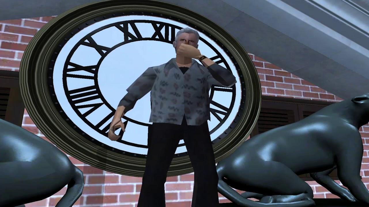 GTA SA BTTF Clocktower Scene Recreation V3