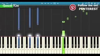 Download Hindi Video Songs - Tere Sang Yaara Piano Cover   Rustom   Tutorial+Chords+Lesson+Notes  Atif Aslam, Akshay Kumar