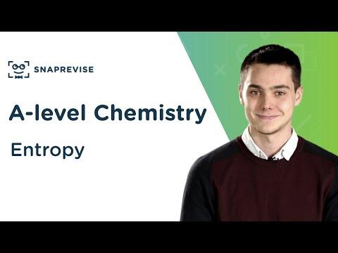 Entropy | A-level Chemistry | OCR, AQA, Edexcel