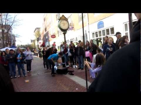 Salem Street Performance - courtesy of Alex Clark