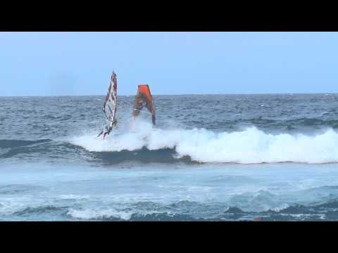 Great Winds at Hookipa Beach Maui Hawaii for Windsurfing