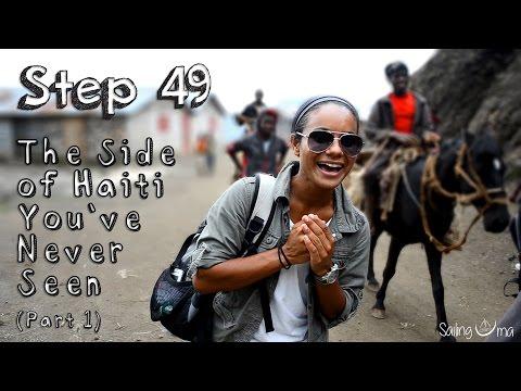 """Sailing Uma: Step 49 """"The side of Haiti you"""