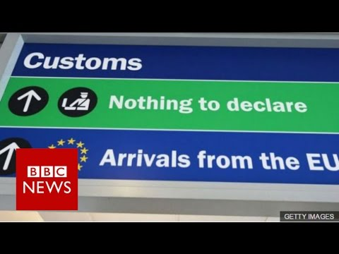 Theresa May & Jeremy Corbyn on single market - BBC News