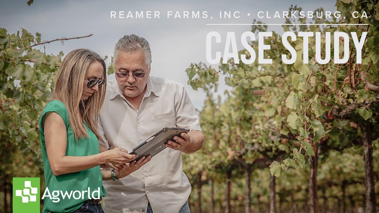 Farm Management Case Study: Reamer Farms | Agworld | Agworld