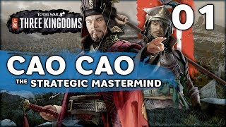Master of Strategy Cao Cao! | Total War: Three Kingdoms (Cao Cao Campaign) #1