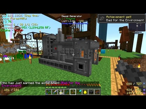Minecraft - Project Ozone 2 #31: Diesel Power