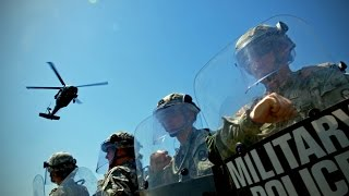 8/18/2014 -- Police state here -- National Guard deploying to St. Louis / Ferguson Missouri