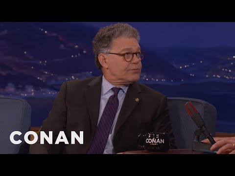 "Senator Al Franken: Trump's Charlottesville Statement Was ""Horrible""  - CONAN on TBS"