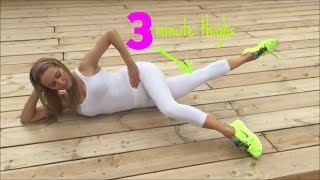 3 Minute Thigh Workout