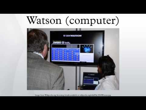Watson (computer)