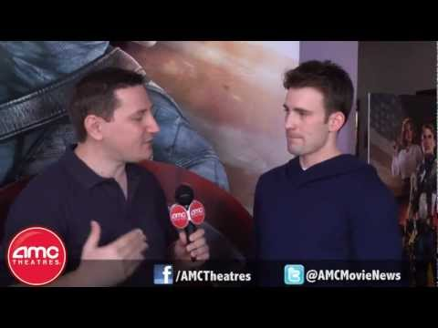 CAPTAIN AMERICA aka Chris Evans Talks To AMC About His New Film